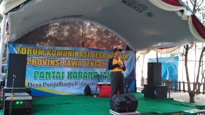 Punjulharjo tuan rumah Pertemuan Forum Komunikasi Desa Wisata Provinsi Jawa Tengah