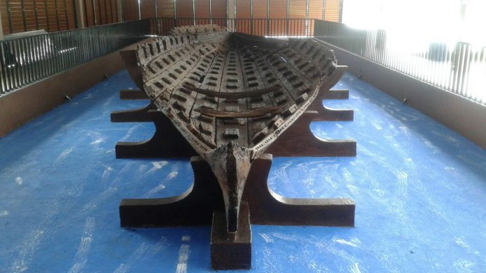 Begini Kondisi Perahu Kuna yang Pernah Terpendam Ratusan Tahun di Pantai Rembang